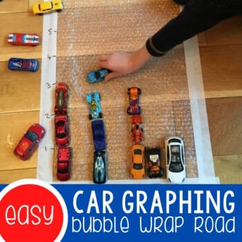 Car Graphing on a Bubble Wrap Road Featured Square Image