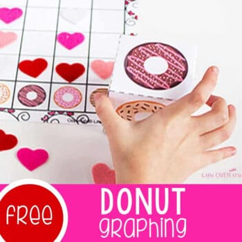 Donut Graphing Free Printable Featured Square Image