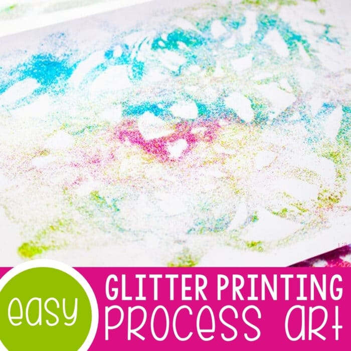 Glitter Printing Process Art Featured Square Image
