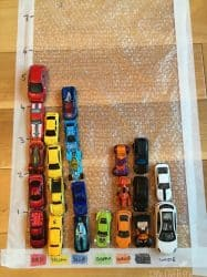Car Graphing on a Bubble Wrap Road