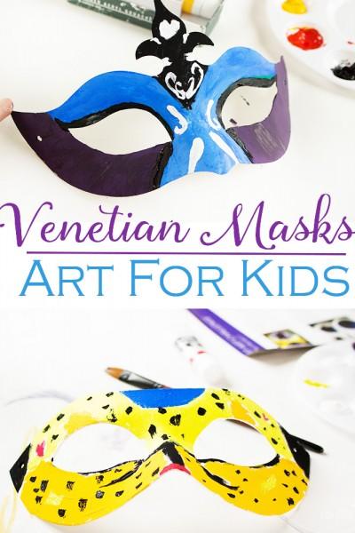Easy-Prep Venetian Masks for Kids