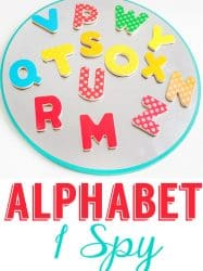 Magnetic Letter Alphabet I Spy Game