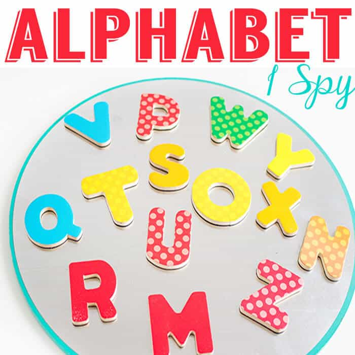 Alphabet I Spy Game