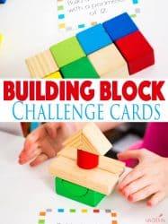 Building Block STEM Challenge Cards