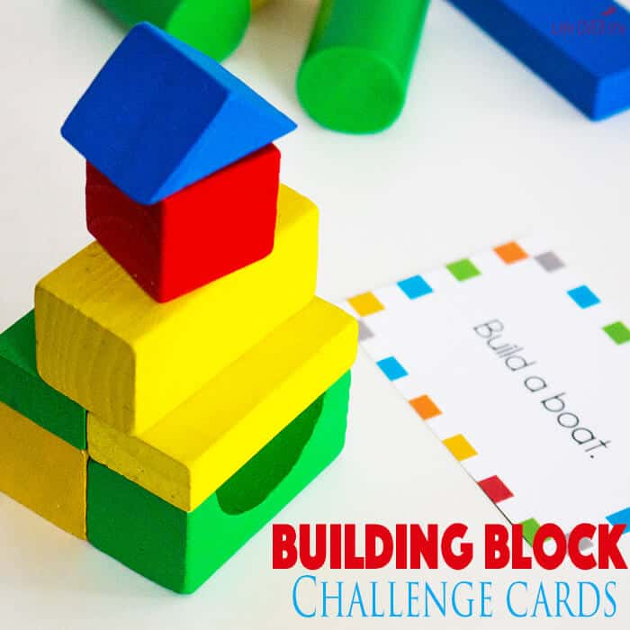 Block STEM Challenge Cards