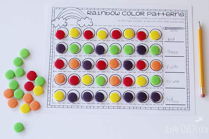 Create a Rainbow Color Repeating Pattern