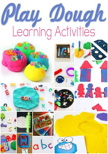 If you love play dough, these ideas for learning with play dough are perfect! So many great ideas!