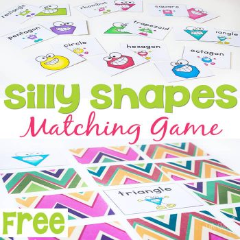 2D Shapes are so much fun to learn with this matching game!