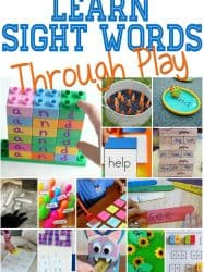 Hands-On Sight Word Activities