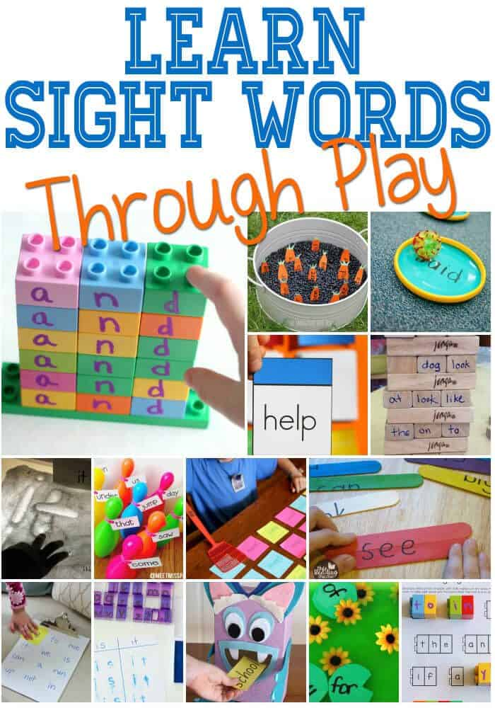hands on learning activities for preschoolers on sight word activities cs 188