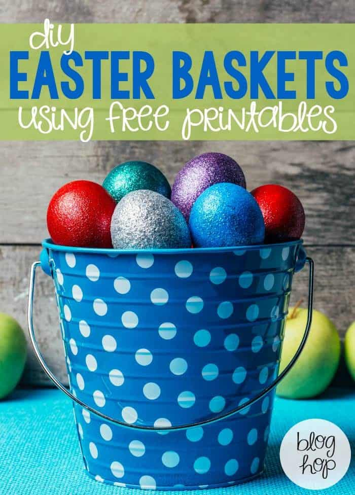 Free Printables perfect for Easter baskets! A great non-candy alternative for Easter Baskets!