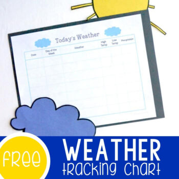 Free Printable Weather Chart Featured Square Image