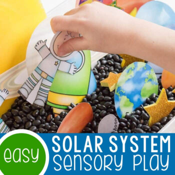 Free Solar System Printable Featured Square Image