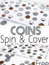 Coin Matching Spin & Cover Game