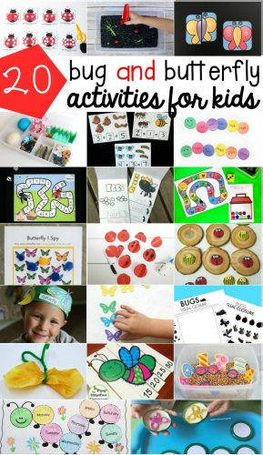 So many fun bug & butterfly activities and crafts! I love them all!