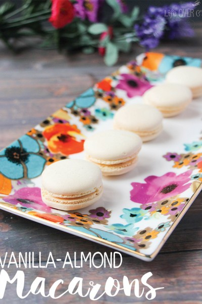 Vanilla-Almond Macarons