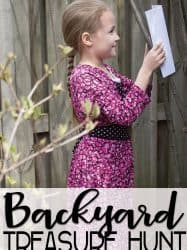 Map Skills for Kids: Backyard Treasure Hunt