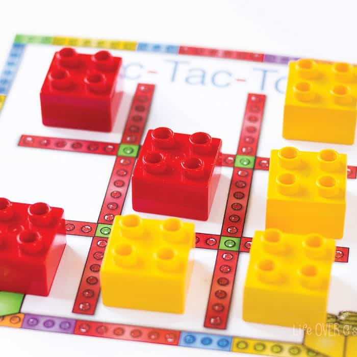 Free Printable Tic Tac Toe For Duplo Life Over Cs