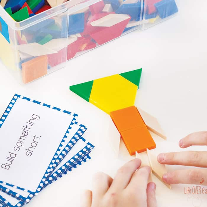 Pattern Block Challenge Cards