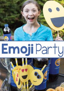 Pull out the grill and have an Emoji Party this summer. A great way to connect with your kids!