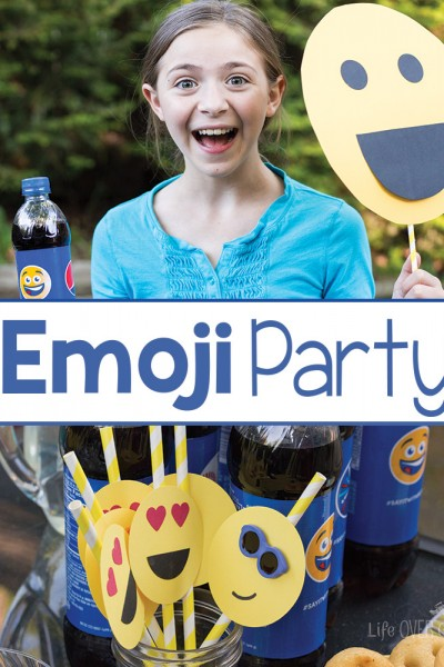 Summer Emoji Party Decorations