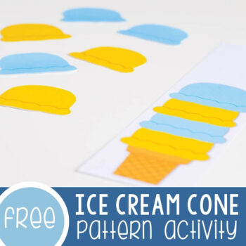 Ice Cream Cone Patterns Printable Featured Square Image