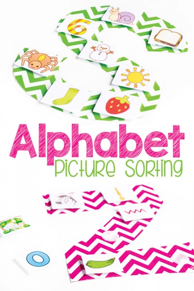 Alphabet Picture Sorts for Beginning Sounds