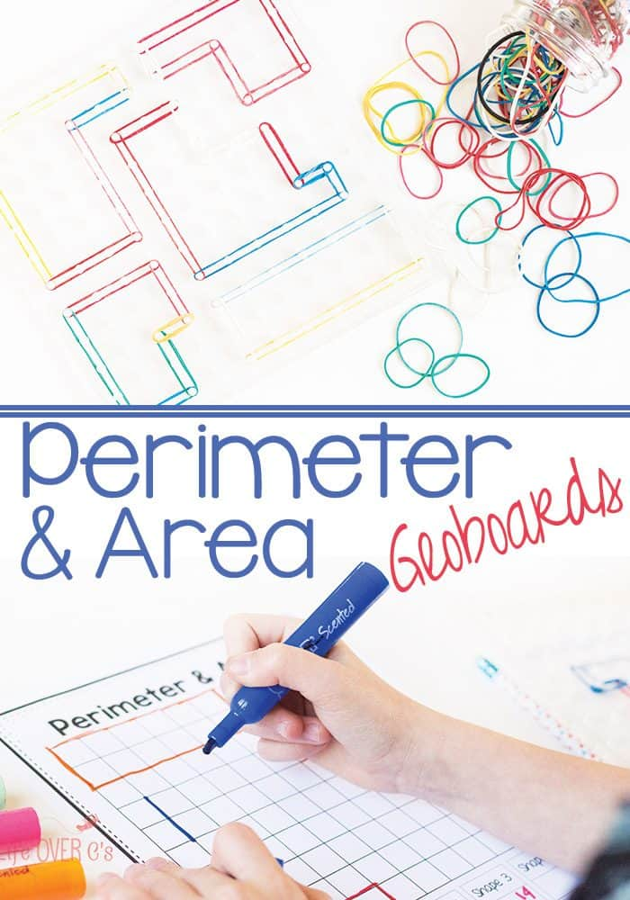This perimeter and area exploration is a great math activity! This customizable perimeter and area printable is perfect for working with irregular shapes.