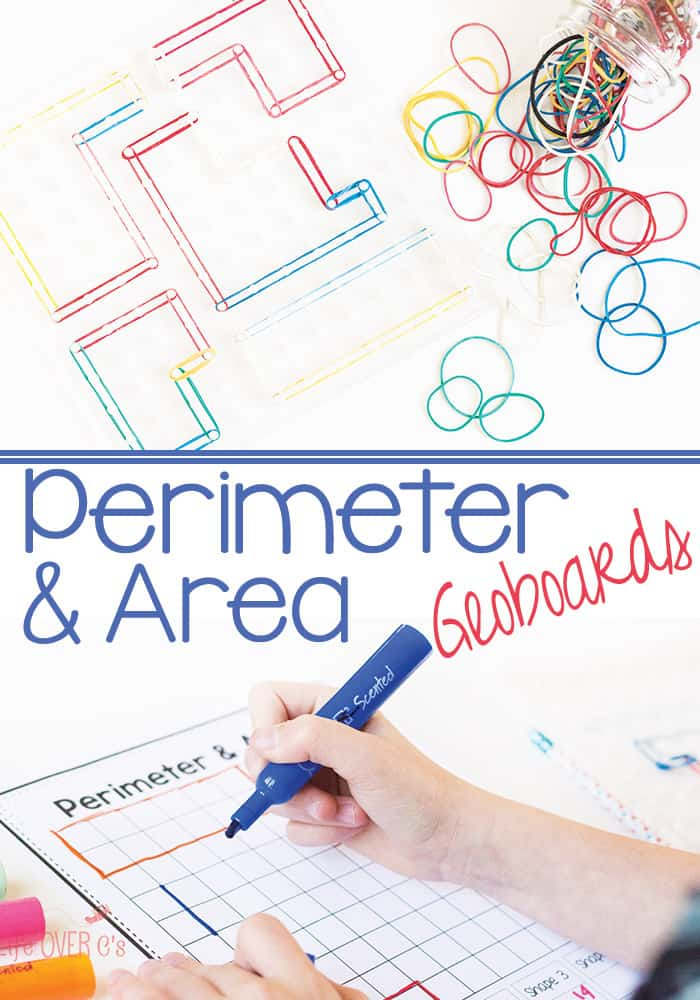 Perimeter and Area Geoboard Exploration