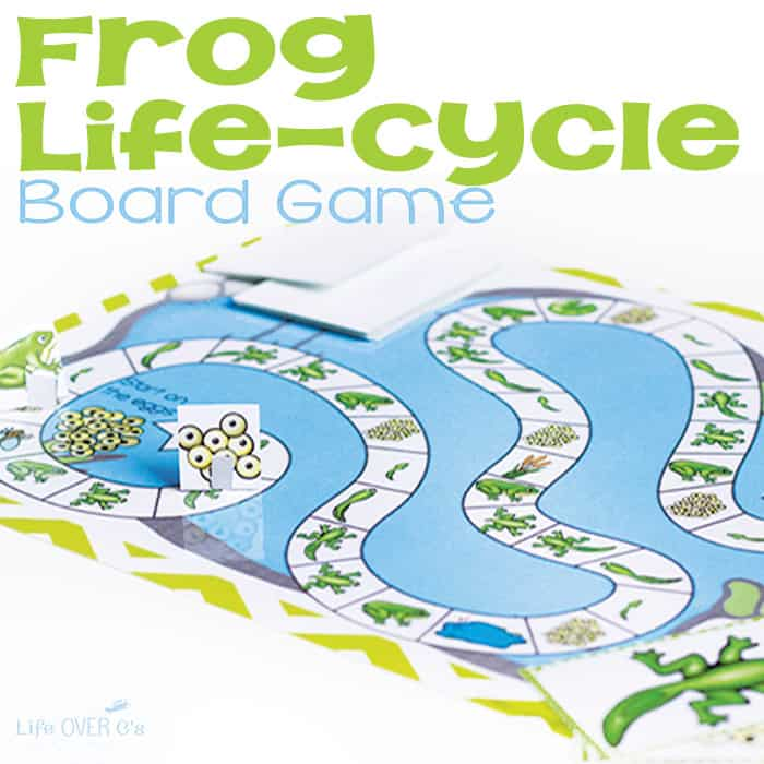 Frog Life Cycle Board Game