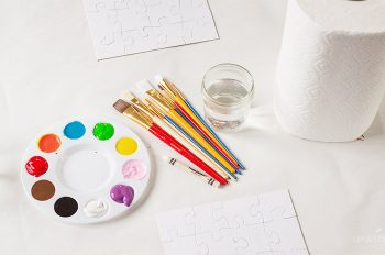 These DIY Puzzles for kids are so much fun! An easy kid's craft that your children will love and enjoy for a long time!