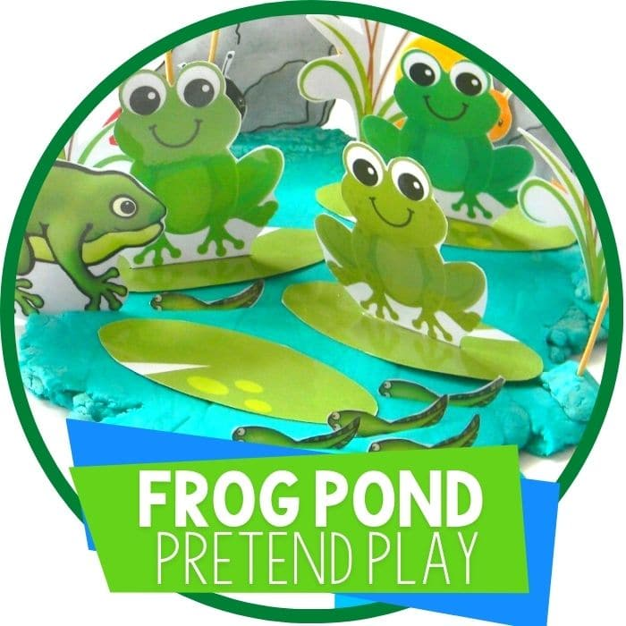 frog pond pretend play Featured Image