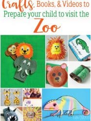 Zoo Themed Activities To Get Your Kids Ready for the Zoo