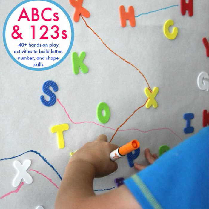 Hands-On Learning Fun with ABCs and 123s