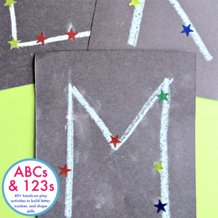 Make letters and numbers come alive with this fun, hands-on ABCs and 123s book! 40+ activities for hands-on learning! Alphabet, names, numbers, counting, addition facts and more!