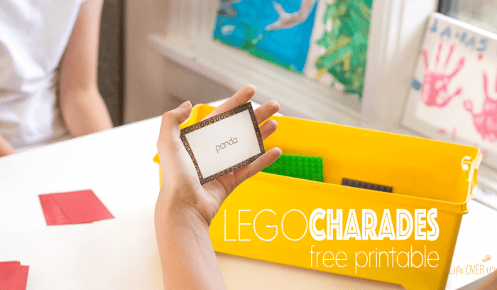 LEGO Charades is the perfect family and kid activity for all ages!!