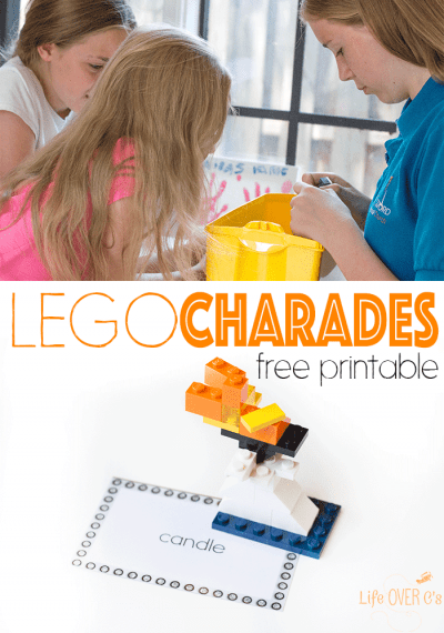 Get your creative juices flowing with this fun LEGO Charades game for kids! A great activity that kids of all ages will love!!