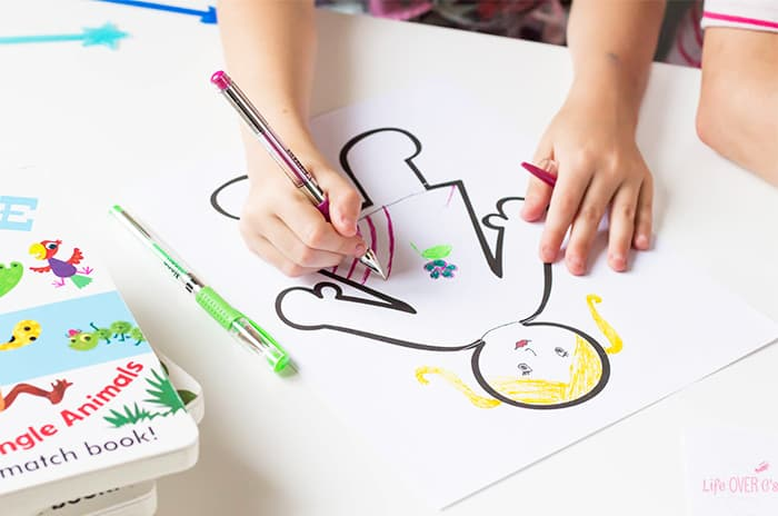 This DIY Mix & Match book is a great activity for kids! They can draw their own pictures, write their own stories and then read the mixed up stories over and over!