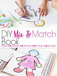 How to Make a DIY Mix & Match Book Kids Will Love