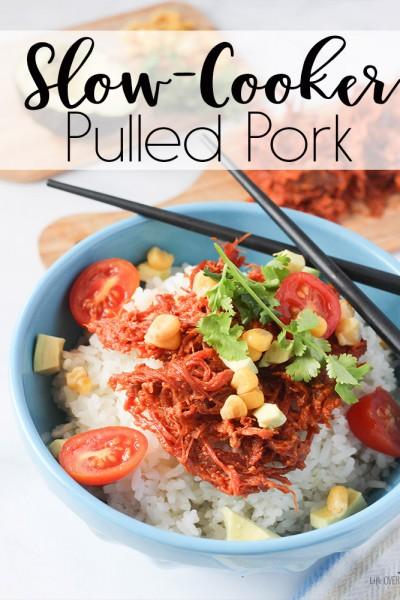 Pulled Pork Rice Bowl