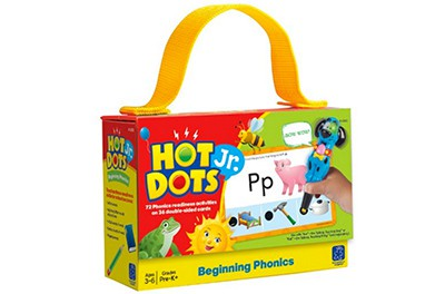 Kids love learning with Hot Dots! This is a great way to reinforce beginning phonics!