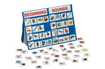 These pocket chart cards are great way to work on beginning sounds!