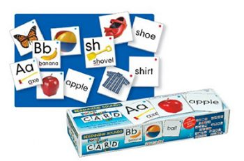 Matching cards for the pocket chart are a great way to work on beginning phonics skills!