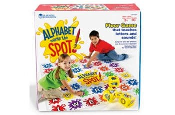 Your kids will love learning the alphabet with this fun game!