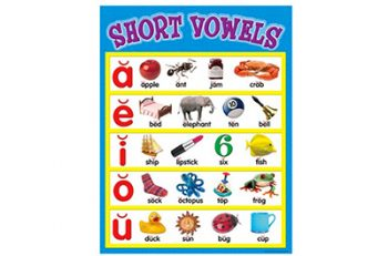 A great wall chart for reviewing vowel sounds!