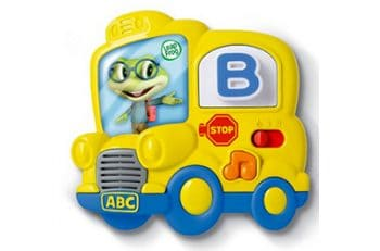 Learning letter sounds is a breeze with the Leap Frog bus!