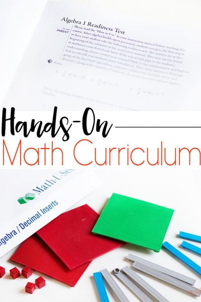 Math-U-See Homeschool Math Curriculum Review + Giveaway