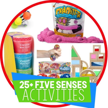25+ Toys for Exploring the Five Senses Featured Image