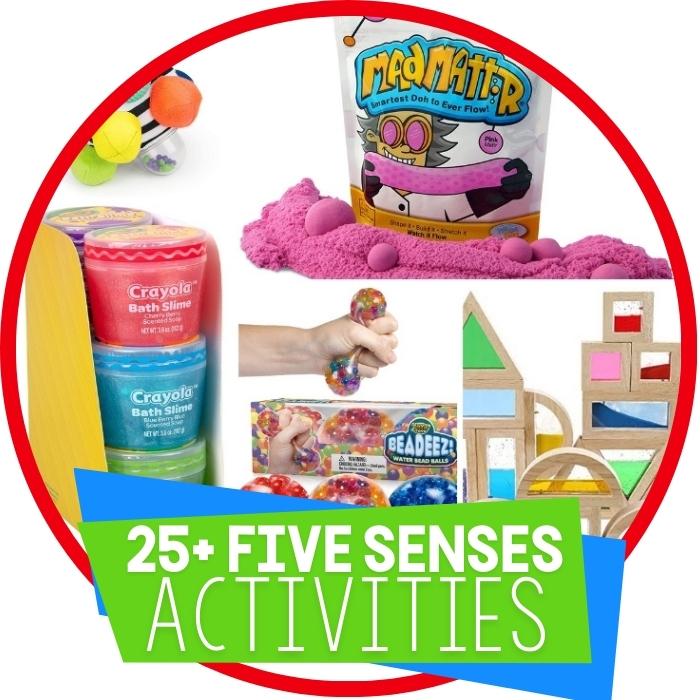 25+ Toys for Exploring the Five Senses