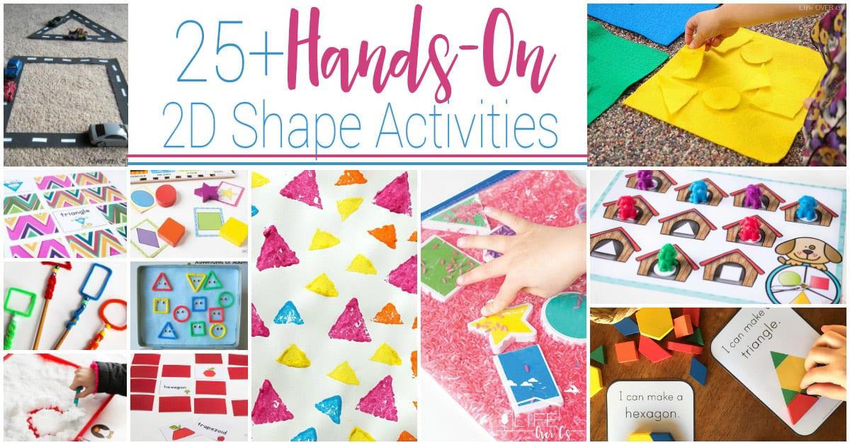 Hands-On 2D Shape Activities